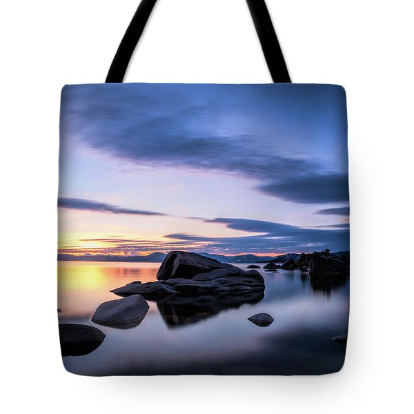 Quiet Sunset Tote Bag