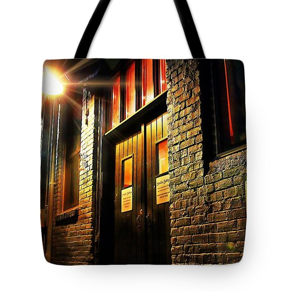 Tote Bag featuring the photograph Quiet Zone by Jessica Brawley