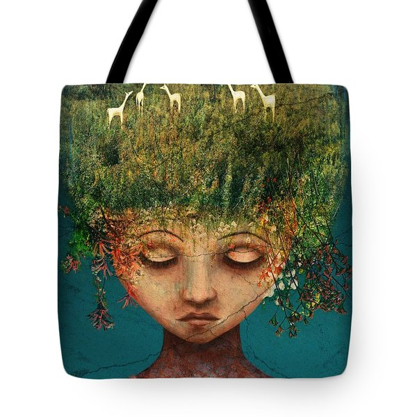 Quietly Wild Tote Bag