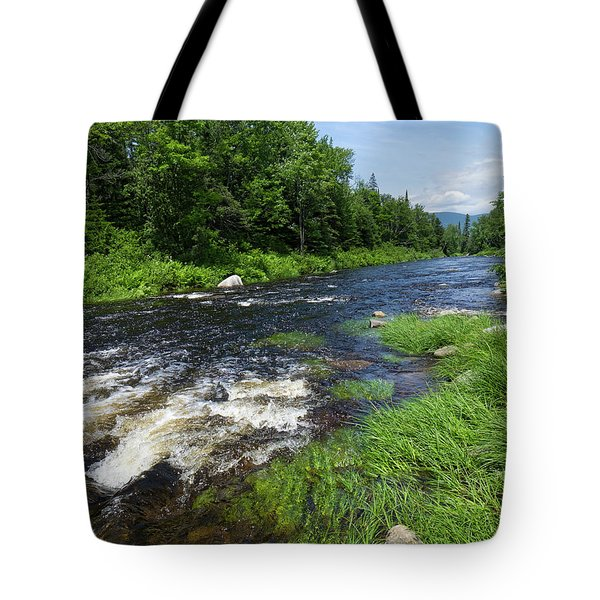 Quill Pond Brook Near Rangeley Maine  -70748 Tote Bag