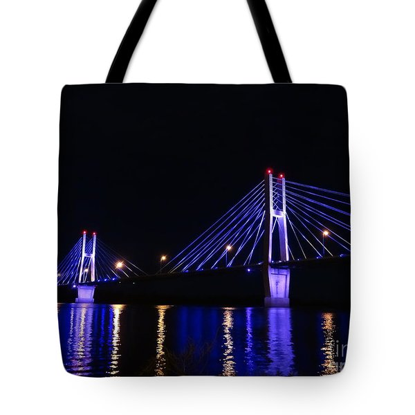 Quincy Bay View Light Reflection Tote Bag