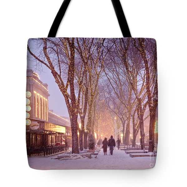 Quincy Market Stroll Tote Bag