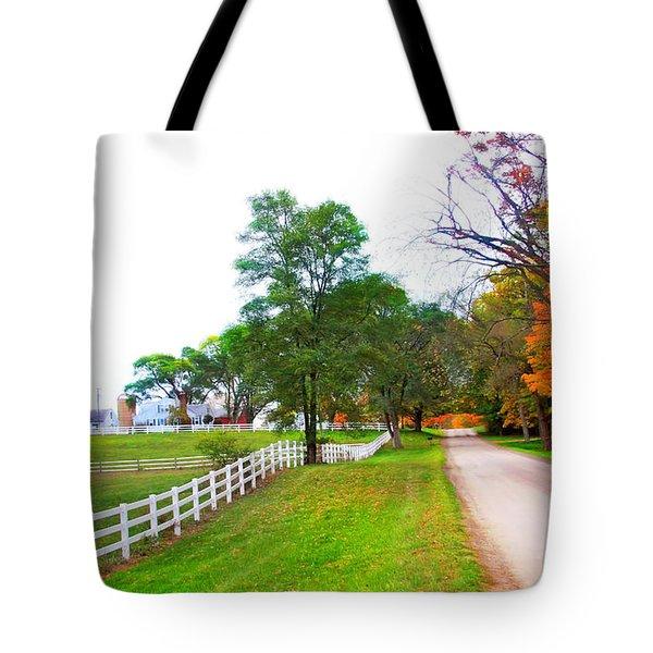 Quintessence Of Autumn Tote Bag