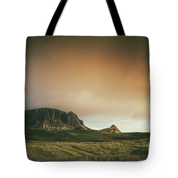 Quiraing Landscape 4 Tote Bag