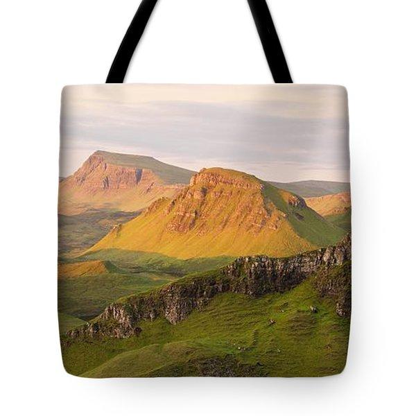 Quiraing Panorama Tote Bag