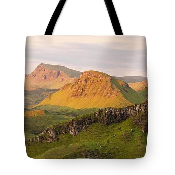 Quiraing Panorama Tote Bag