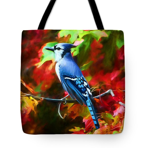 Quite Distinguished Tote Bag by Tina LeCour