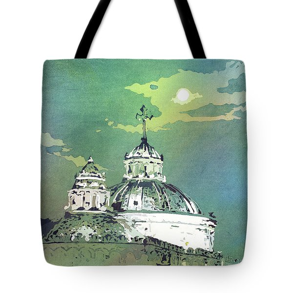 Quito Church- Ecuador Tote Bag