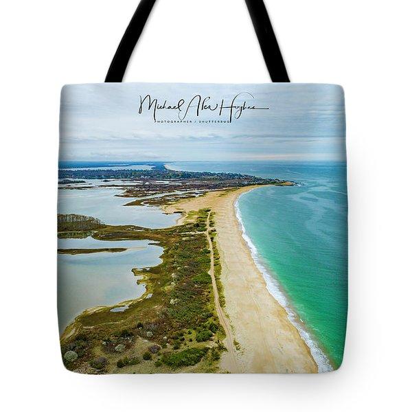 Quonochontaug Beach Tote Bag