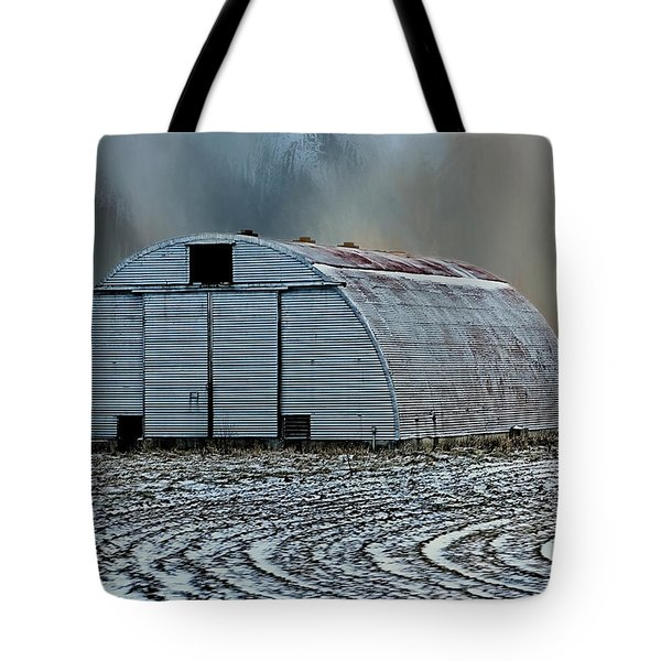 Quonset Hut Tote Bag
