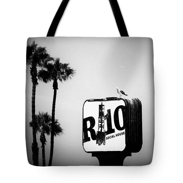 R-10 Social House Tote Bag