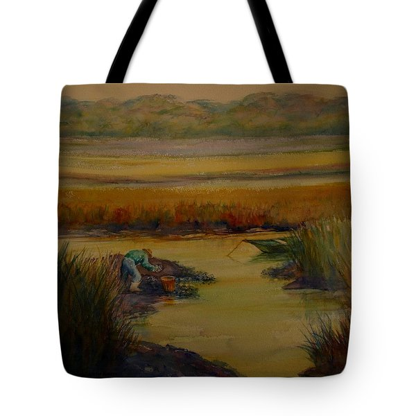 Tote Bag featuring the painting R Month by Dorothy Allston Rogers
