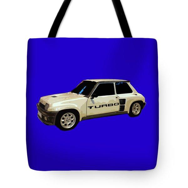 R Turbo Art Tote Bag