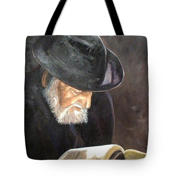 Rabbi Tote Bag by Toni Berry