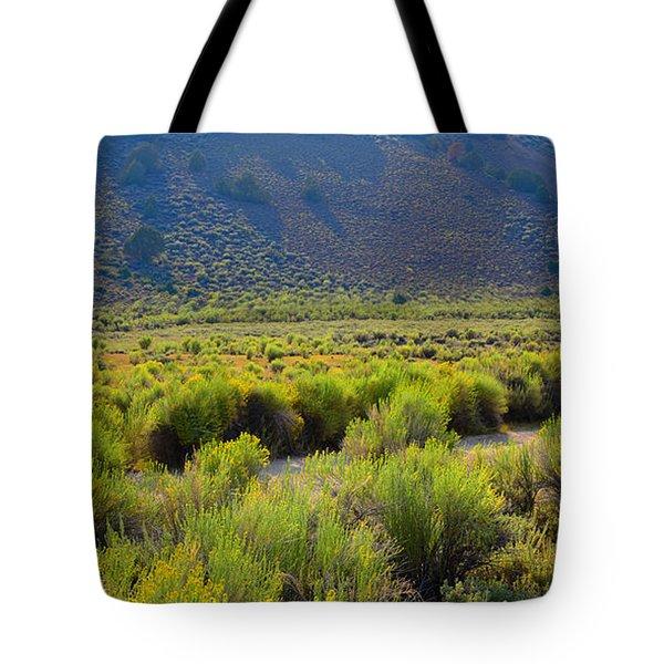 Rabbit Brush In Bloom Tote Bag
