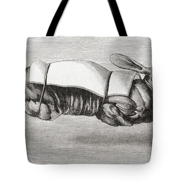 Rabbit Dressed And Prepared For Spit Tote Bag