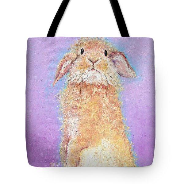 Rabbit Painting - Babu Tote Bag