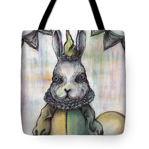 Rabbit Pierrot Tote Bag