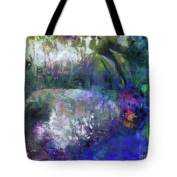 Rabbit Reflection Tote Bag