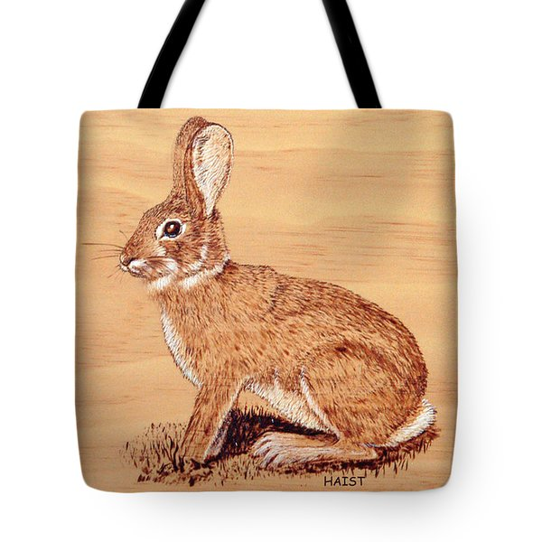 Rabbit Tote Bag by Ron Haist