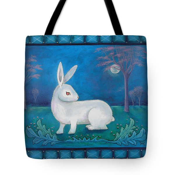 Rabbit Secrets Tote Bag