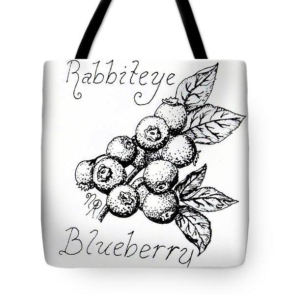 Rabbiteye Blueberry Tote Bag