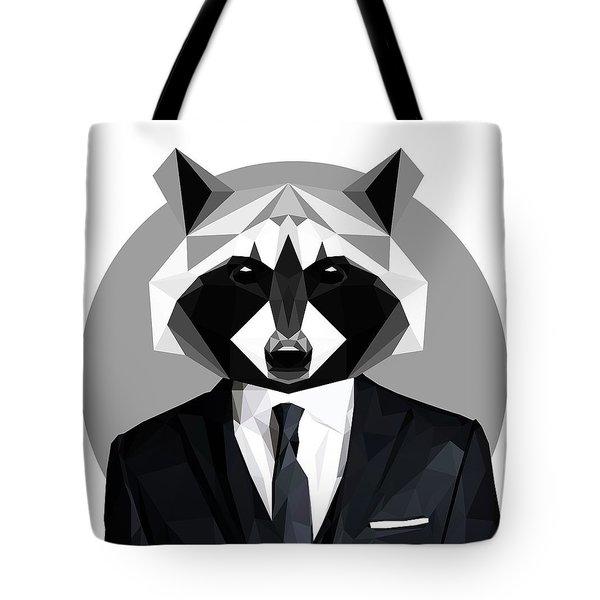 Raccoon Tote Bag by Gallini Design