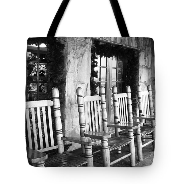 Raccoon Mountain Tote Bag
