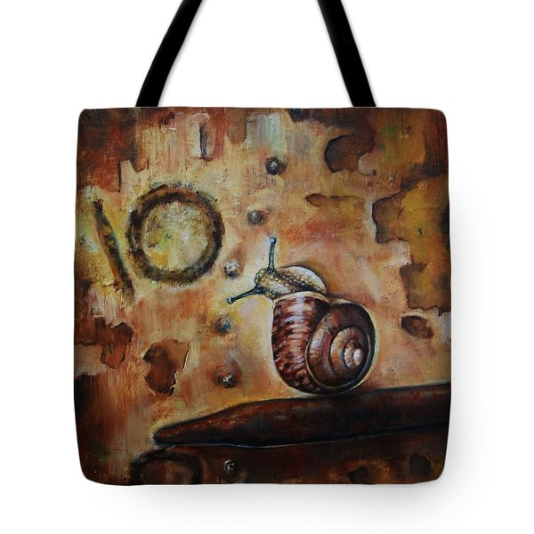Race Against Time Tote Bag