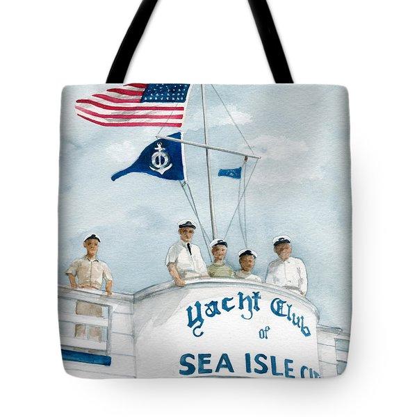 Race Committee  Tote Bag