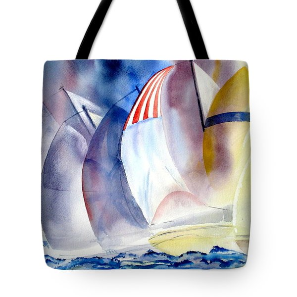 Race For The Mark Tote Bag
