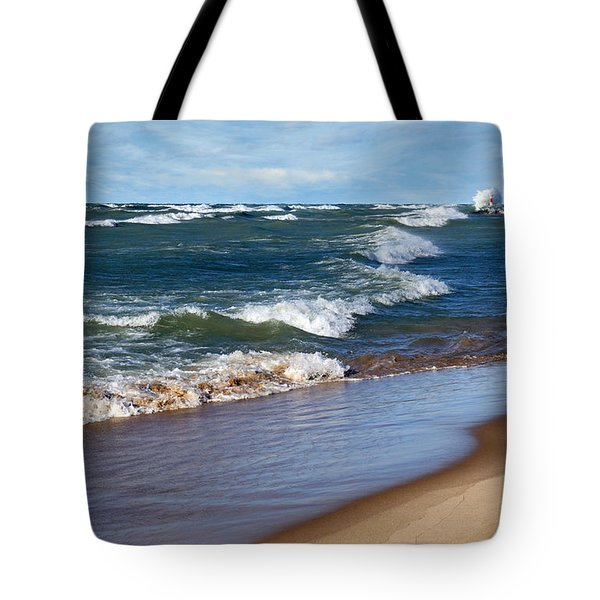 Race To Shore Tote Bag
