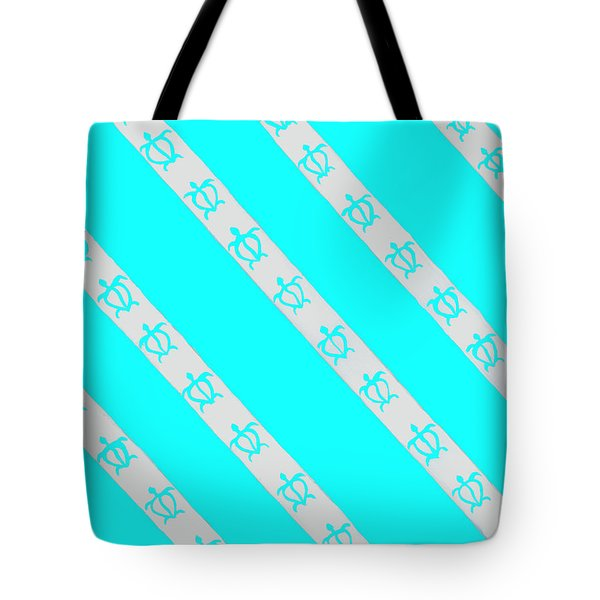 Tote Bag featuring the painting Race To The Sea 2 by Darice Machel McGuire