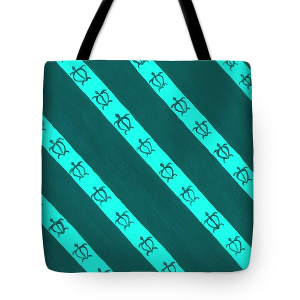 Tote Bag featuring the painting Race To The Sea 3 by Darice Machel McGuire