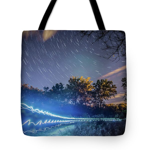 Race Trails Tote Bag
