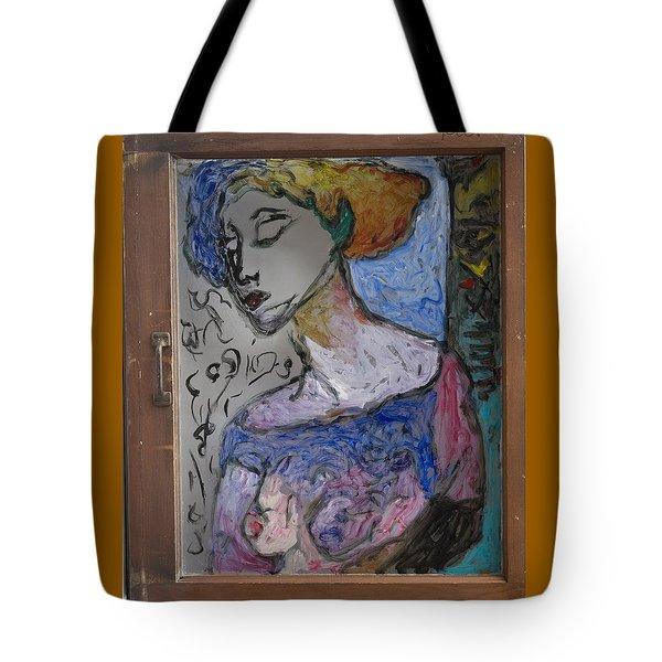 Rachel In Reverse Tote Bag