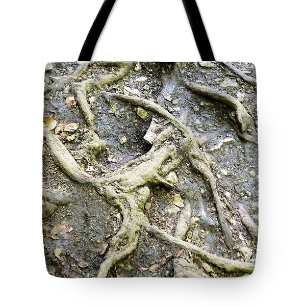 Tote Bag featuring the photograph Racinaire by Marc Philippe Joly