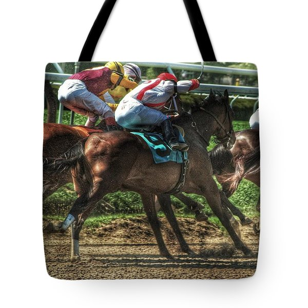 Racing Tote Bag