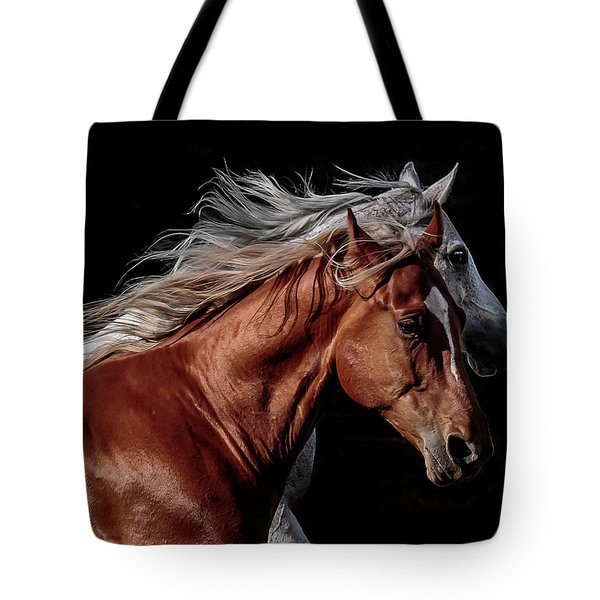 Racing With The Wind Tote Bag