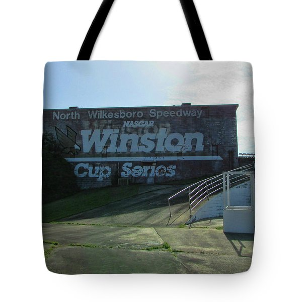 Tote Bag featuring the photograph Racing Yesteryear by Victor Montgomery