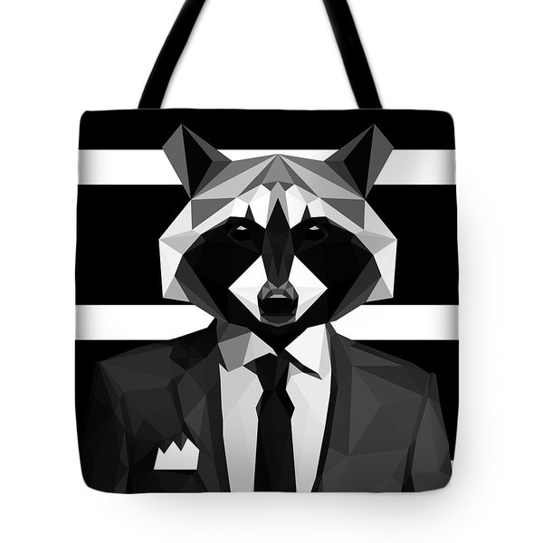 Racoon Tote Bag by Gallini Design