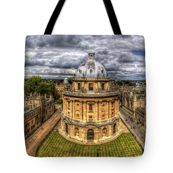 Radcliffe Camera Panorama Tote Bag