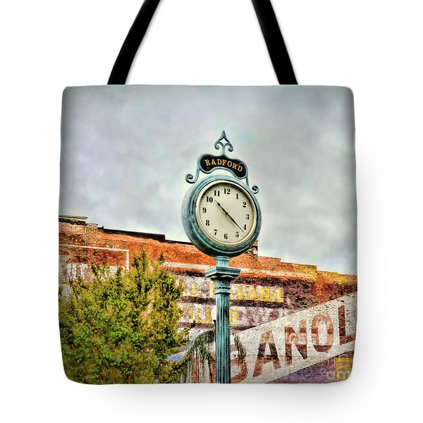 Radford Virginia - Time For A Visit Tote Bag