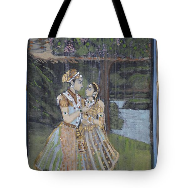 Radha Krishna Tote Bag by Vikram Singh