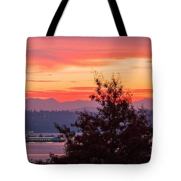 Radiance At Sunrise Tote Bag