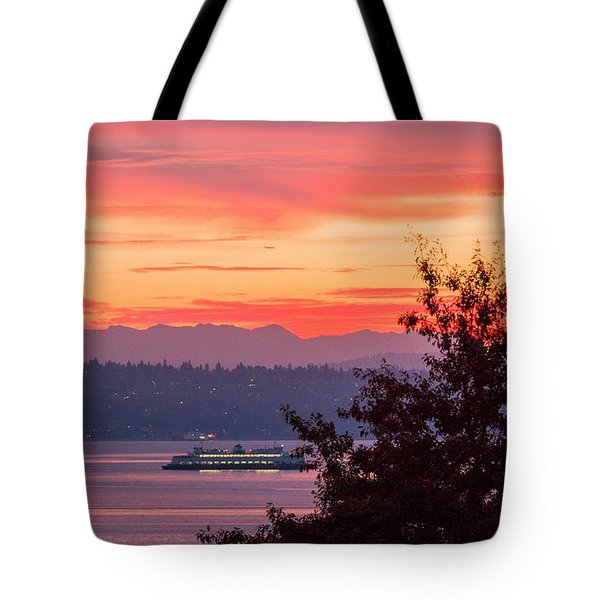 Radiance At Sunrise Tote Bag