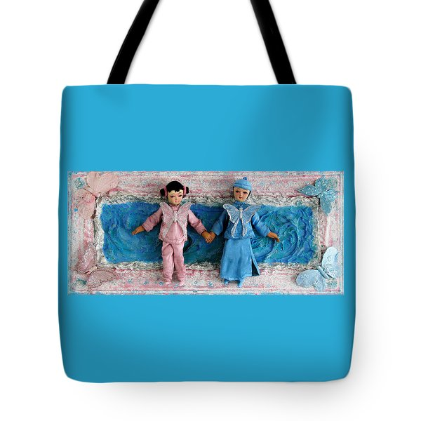 Radiance Butterfly Tote Bag