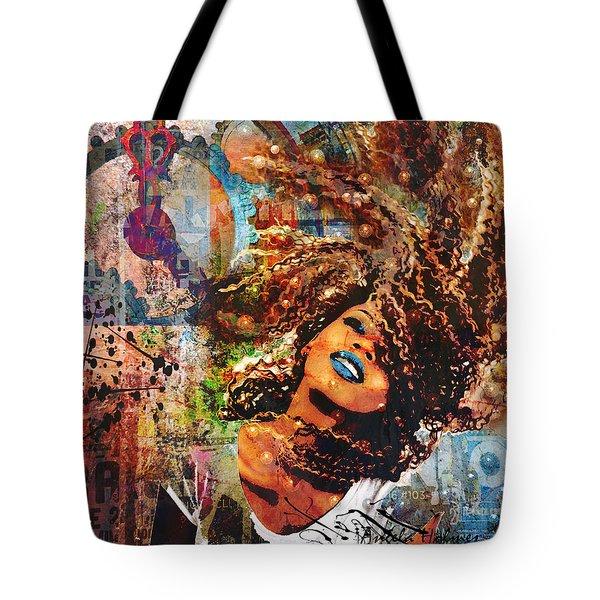 Radiant Tote Bag by Angela Holmes