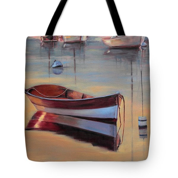 Radiant White Tote Bag