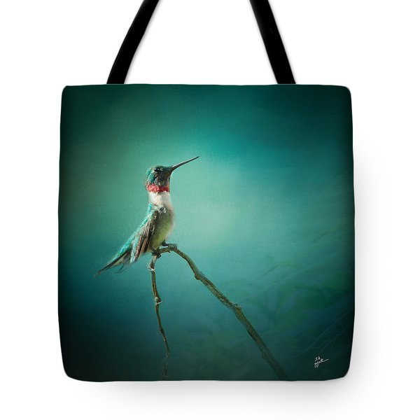 Radiant Jewel Tote Bag